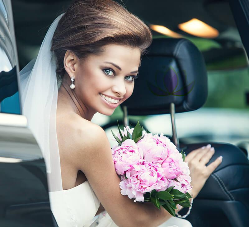 Coiffure haute pour mariage à Repentigny