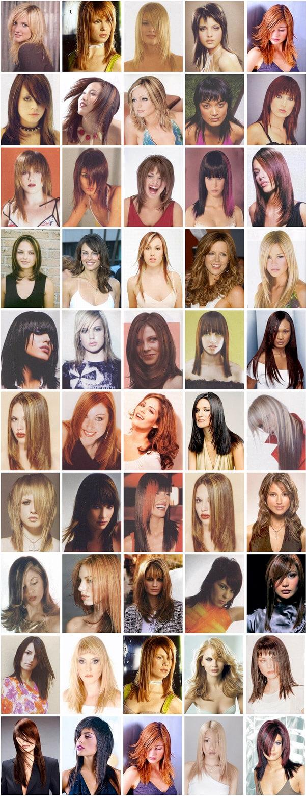 Coupe de cheveux mi-longue pour femme à Repentigny