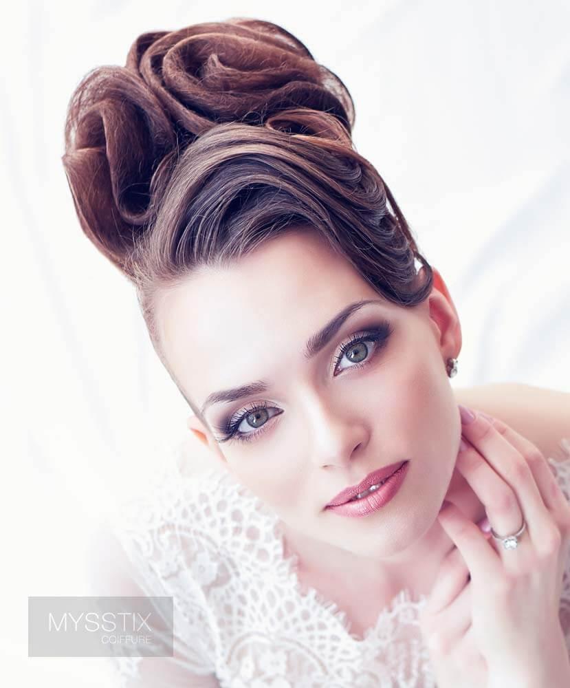 L Art Des Plus Belles Coiffures De Mariage Salon De