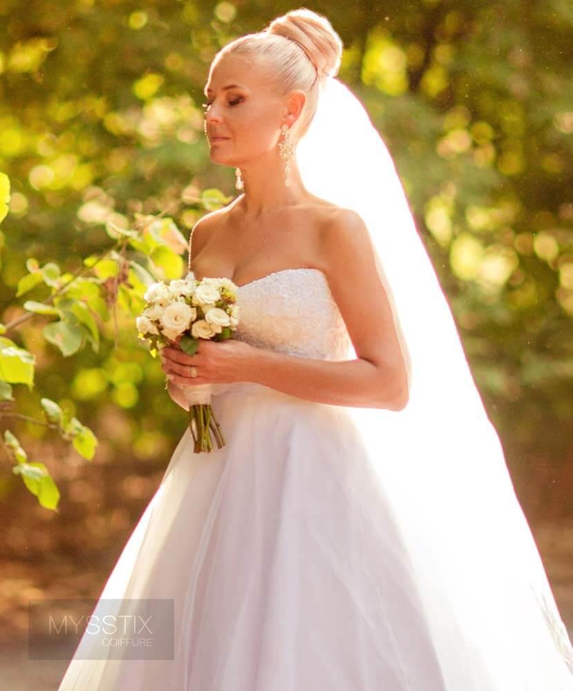 Coiffure de mariage - Repentigny