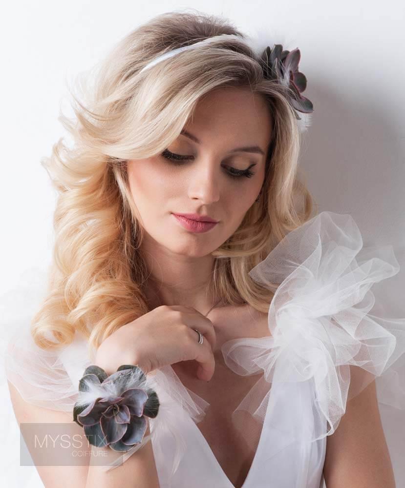 l 39 art des plus belles coiffures de mariage salon de coiffure mysstix repentigny. Black Bedroom Furniture Sets. Home Design Ideas